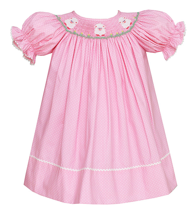 Girls Smocked Easter Dresses & Outfits