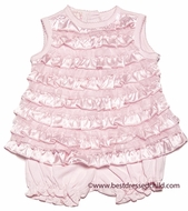 Baby Biscotti Infant Girls Pink Wrapped in Ruffles Bloomers Set