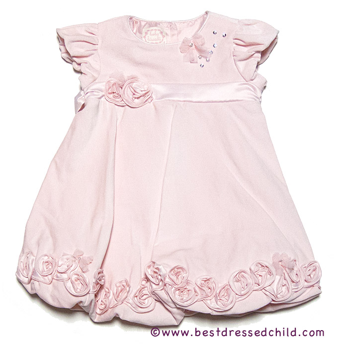 Baby Biscotti Infant / Toddler Girls Pink Ice Princess Velveteen ...