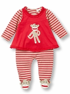 Baby Girls Rompers & Pants Sets