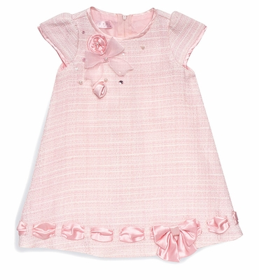 Biscotti Baby Toddler Girls Pink Ode To Chanel Easter