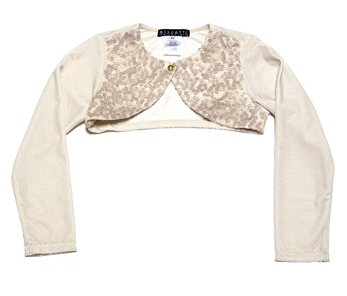Girls Gold Sweater - Cashmere Sweater England