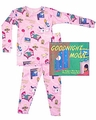 Books to Bed Pajamas & Optional Good Night Story Books - Goodnight Moon - Pink