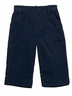Florence Eiseman Baby / Toddler Boys Navy Blue Corduroy Pull On Pants