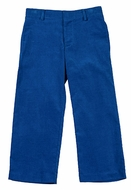 Florence Eiseman Boys Royal Blue Corduroy Fly Front Pants