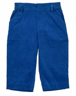 Florence Eiseman Infant / Toddler Boys Royal Blue Corduroy Pull On Pants