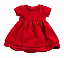 Florence Eiseman Ruby Red Velvet Christmas Dress to Fit 18 in. American Girl Dolls