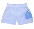 Funtasia Baby / Toddler Boys Blue Swim Trunks with Whale