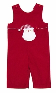 Funtasia Baby / Toddler Boys Red Corduroy Longall - Switchable Santa Claus / Football Tab