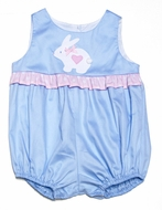 Funtasia Infant Girls Light Blue Easter Bunny Bubble