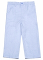 Glorimont Boys Blue Oxford Dress Pants / Slacks