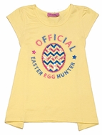 Haven Girl Yellow Official Easter Egg Hunter Tunic Top