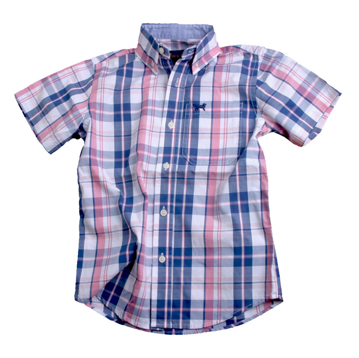 Create a versatile wardrobe with new boys' shirts from Sears. Your little boy can express his style in any season with new boys' t-shirts. He'll stay warm with a striped thermal under his boys' outerwear on a snowy winter day, while a crisp boys' polo shirt will look sharp for a school portrait.