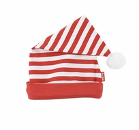 Le Top Baby / Toddler Girls / Boys Red / White Striped Long Cap