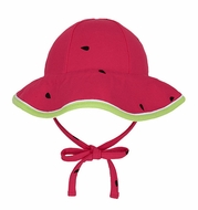 Le Top Girls Red Watermelon Sun Hat with Ties