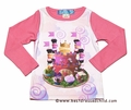 Lollipop Twirl by Lemon Loves Lime Girls Pink Princess Favorite Cake T-Shirt