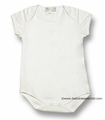 Magnolia Baby Infant BOYS Embroidery Christening Cross Onesie - IVORY