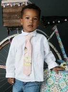 Mustard Pie Special Easter Edition - Little Boys Petal Pink Neck Tie