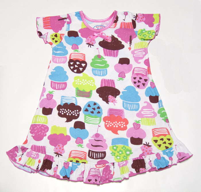 Sara's Prints Girls Pink / Bright Colors Crazy Birthday