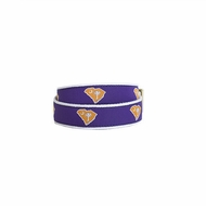 State Traditions Little Boys Game Day Youth Belt - Clemson