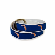 State Traditions Little Boys Game Day Youth Belt - Florida Gators