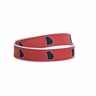 State Traditions Little Boys Game Day Youth Belt - UGA