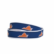 State Traditions Little Boys Game Day Youth Belt - UVA Charlottesville