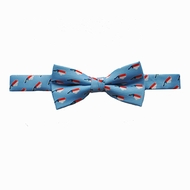 State Traditions Little Boys Game Day Youth Bow Tie - Light Blue North Carolina
