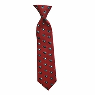 State Traditions Little Boys Youth Gameday Zipper Necktie - South Carolina Gamecocks Colors