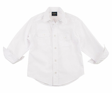 T F Laurence by Eiseman Boys Classic White Dress Shirt