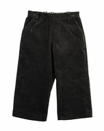 TF Laurence by Eiseman Boys Wide Wale Cord Pants - Black