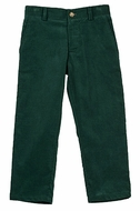 TF Laurence by Florence Eiseman Boys Green Corduroy Skinny Pants