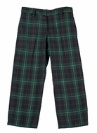 TF Laurence by Florence Eiseman Boys Green / Navy Blue / Red Plaid Dress Slacks