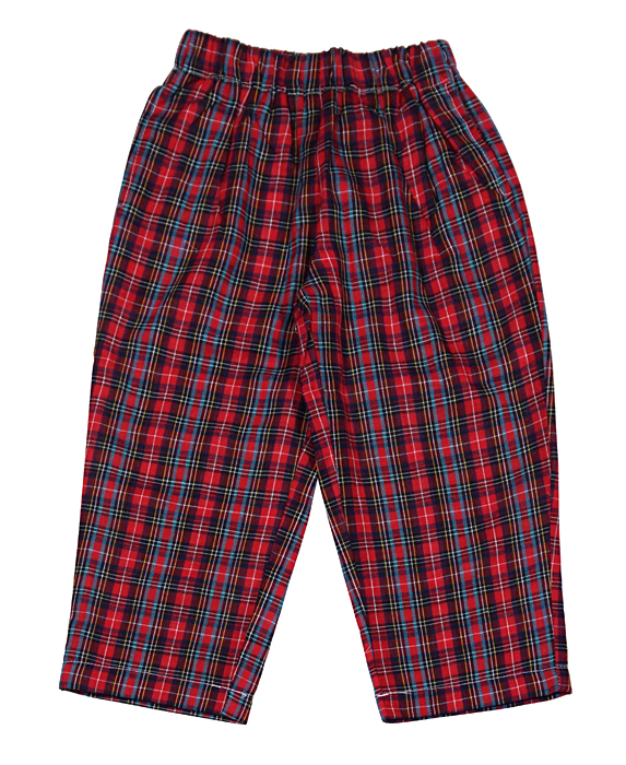 The Oaks Christmas Red Plaid Pants - Baby/Toddler