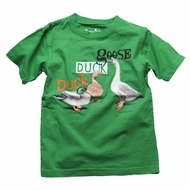 Wes & Willy Baby / Toddler Boys Duck Duck Goose on Irish Green Shirt