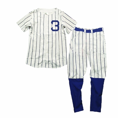 Wes Amp Willy Boys Blue Striped Babe Ruth New York Yankees