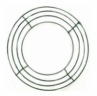 Wire Wreath Frames 10in  |  Pack of 10