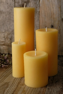 100% Pure Beeswax Candles