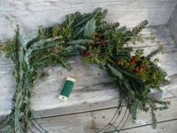 "24"" Box Wire Wreath Frames"