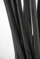 "26"" Black Fiber Sticks 15 pieces"