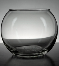 Clear Glass Globe Candle Holders 3.5in (Pack of 12)