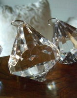 "3"" Crystals Large Chandelier Drops ( 6 pieces)"