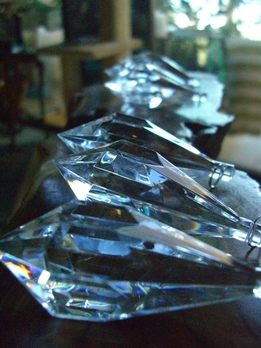 "3"" Heavy Acrylic Crystals Prism Cut"