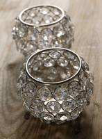 Crystal Candle Holders Set of 2