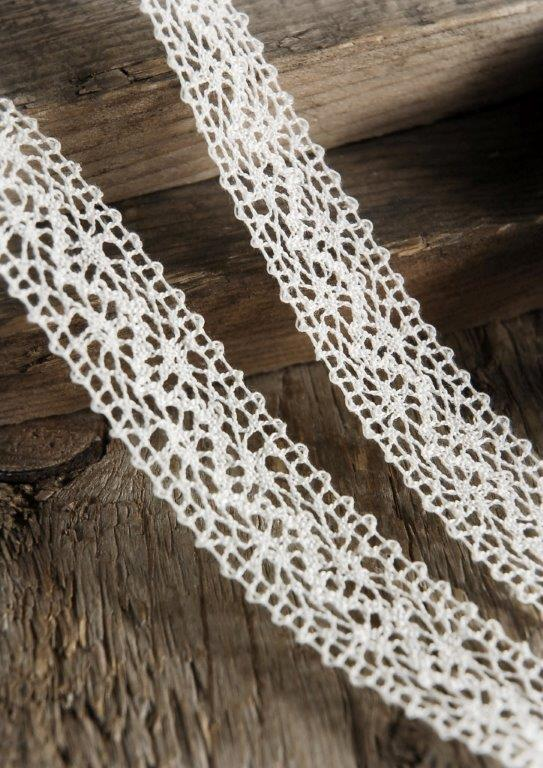 Needle Lace Ivory 1in