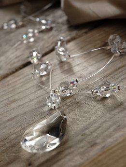 Acrylic Crystal Garland 72in
