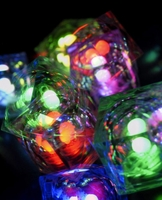8-Mode programmable premium crystal cubes