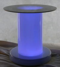 "Acrylic Risers 12"" Pedestal (light it with 10"" vase light)"
