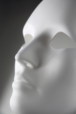 Adult Full Face Blank Female Masks Primed