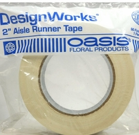 "Aisle Runner Tape White 2"" x 90 Feet Design Works"